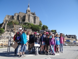 Classes de découvertes au Mont Saint-Michel